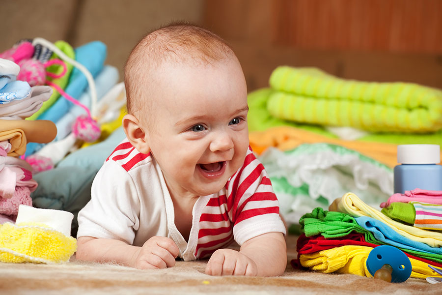 Cleaning Out The Baby Clothes Pregnancy View